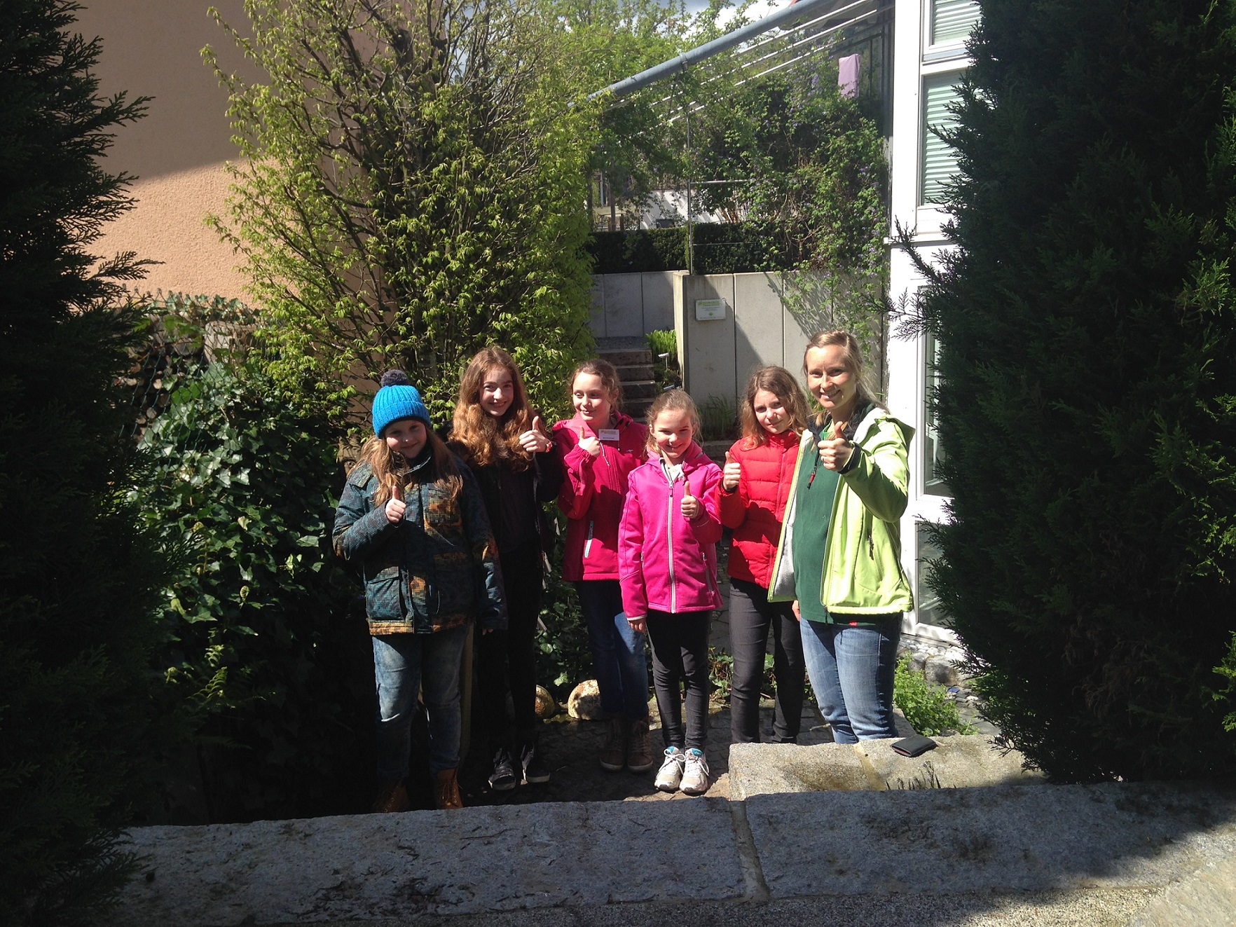 Team Grün Elzach, Girls Day 2017