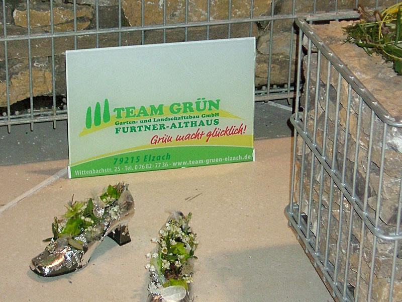 Team Grün Elzach – Gartenträume 2009 - Messe Freiburg