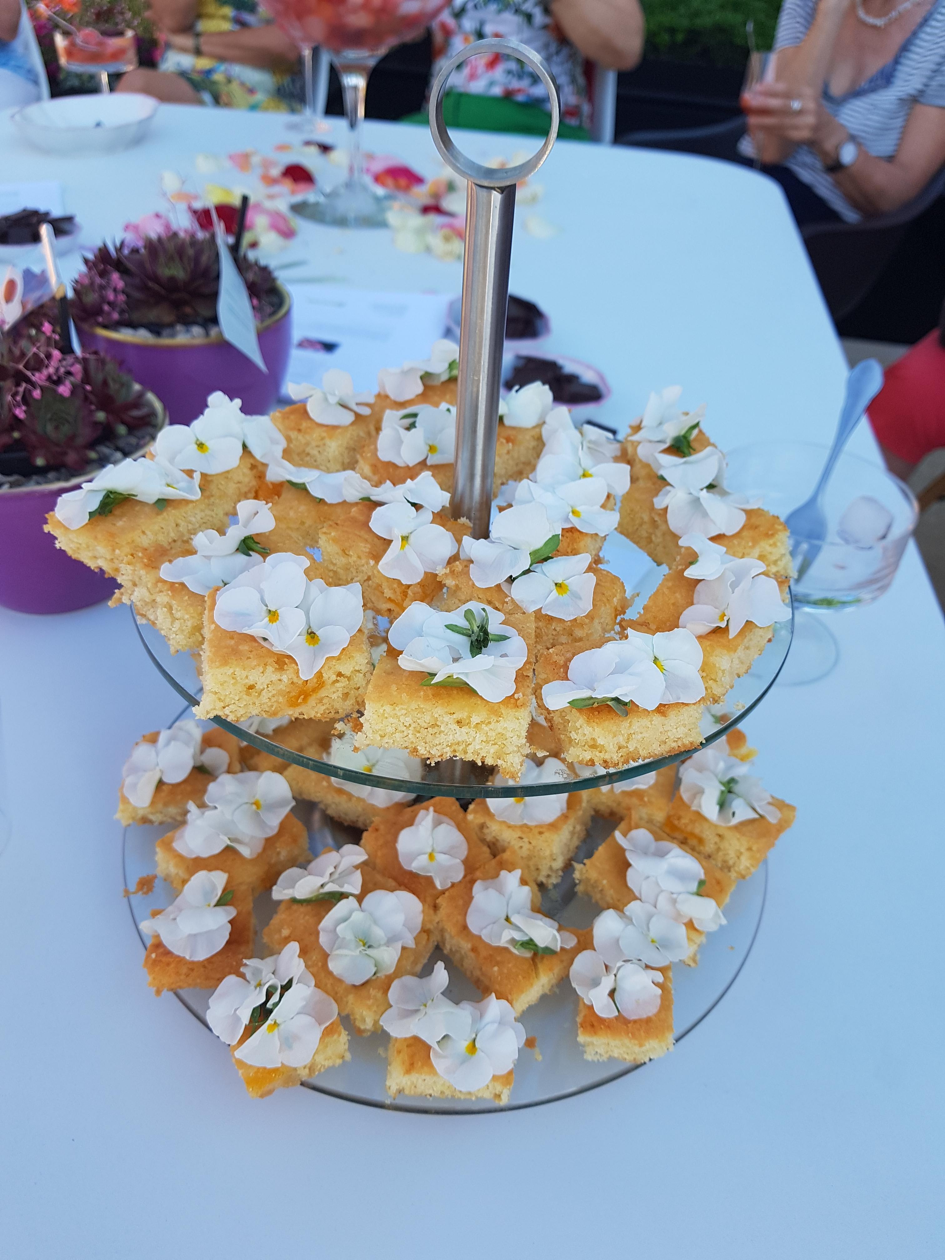Veilchenkuchen