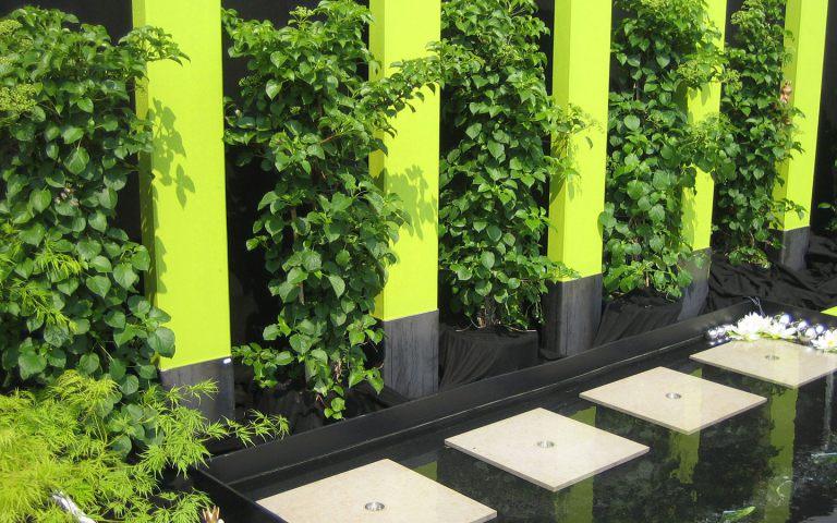 Sichtschutz Garten Grun: Sichtschutz terrasse mauer kreatif von zu hause design ideen ...