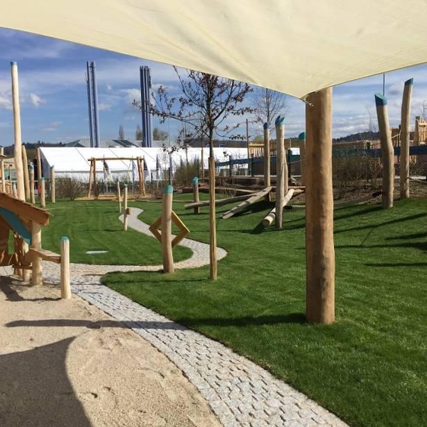 Spielplatz: Landesgartenschau 2018